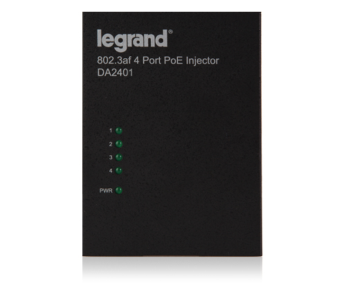 4 PORT High Power PoE Injector