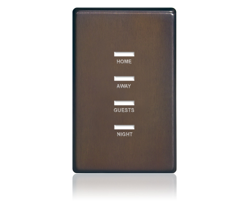 FP - Finetouch Softline Metal 1-G 4-BTN Oil-Rubbed Bronze Eng