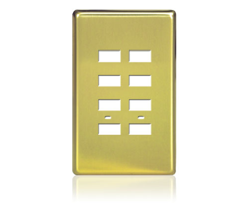 FP - Rptouch Softline Metal 1-G 8-BTN Polished Brass