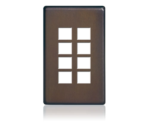 FP - Squaretouch Softline Metal 1-G 8-BTN Oil-Rubbed Bronze