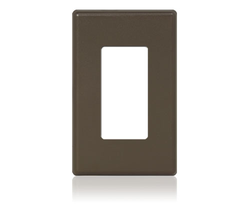 FP - Easytouch II Softline Plastic 1-G Decora Brown