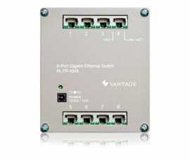 Gigabit Ethernet Switch on Vantage   8 Port Gigabit Ethernet Switch