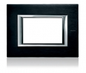 Axolute Rectangular Faceplate, 1 Gang - Brushed Anthracite