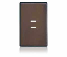 FP - Finetouch Softline Metal 1-G 2-BTN Oil-Rubbed Bronze